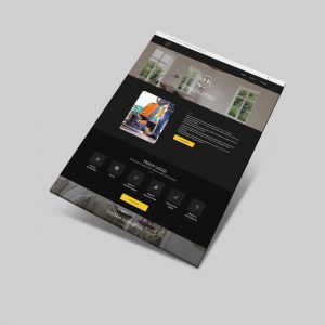 WordPress page for MK corp